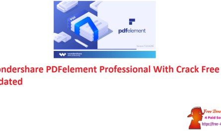 Wondershare PDFelement Professional With Crack Free Updated