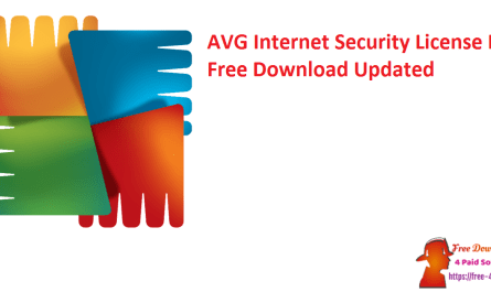 AVG Internet Security License Key Free Download Updated