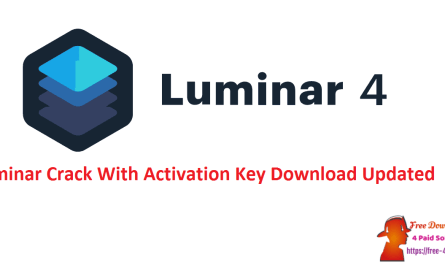 Luminar Crack With Activation Key Download Updated