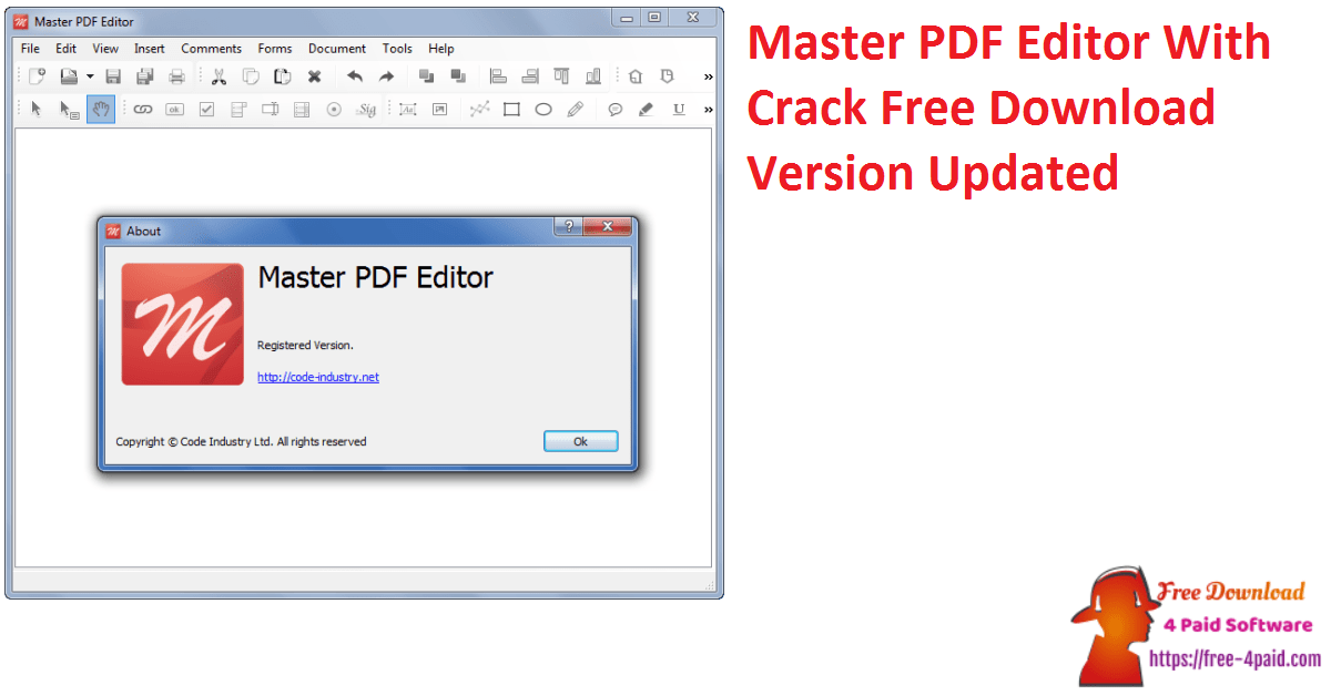 Master PDF Editor With Crack Free Download Version Updated