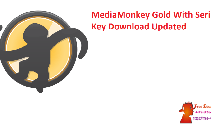 MediaMonkey Gold 5.0.1.2433 With Crack + Serial Key Download [Updated]