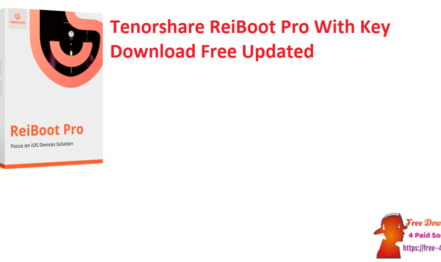 Tenorshare ReiBoot Pro 8.0.13.5 With Crack Key Download Free [Updated]