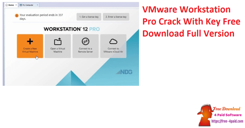 VMware Workstation Pro Crack With Key Free Download Full Version