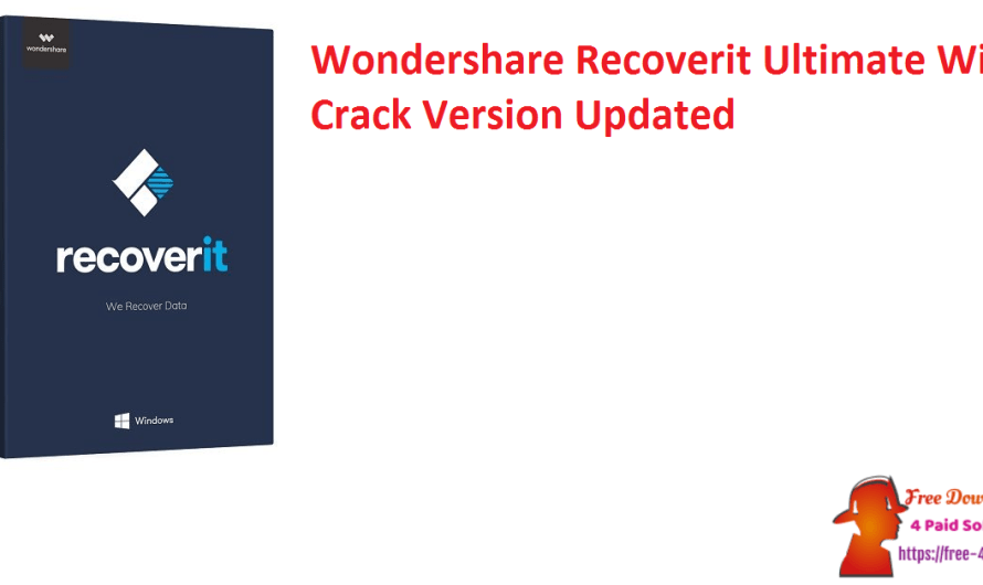 Wondershare Recoverit Ultimate 10.0.1.6 With Crack Version [Updated]