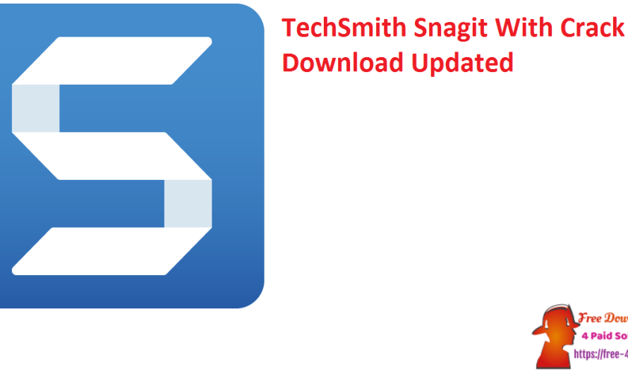 TechSmith Snagit 2021.4.2 With Crack Download [Updated]
