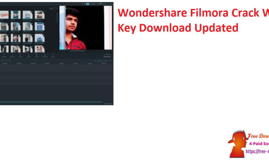 Wondershare Filmora 10.5.5.24 Crack With Key Download [Updated]