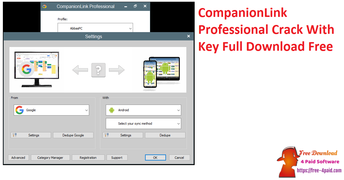 CompanionLink Professional Crack With Key Full Download Free