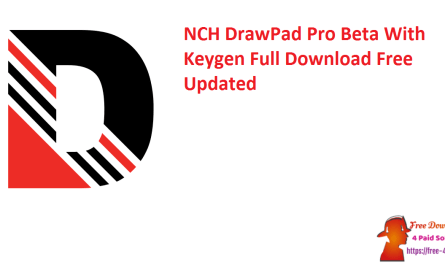 NCH DrawPad Pro Beta With Keygen Full Download Free Updated