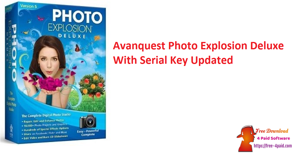 Avanquest Photo Explosion Deluxe With Serial Key Updated