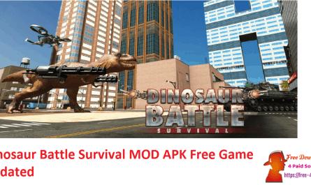 Dinosaur Battle Survival MOD APK Free Game Updated
