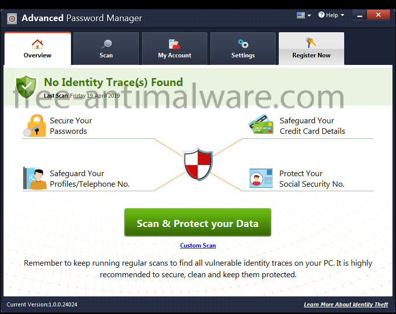 Advanced Password Manager virus