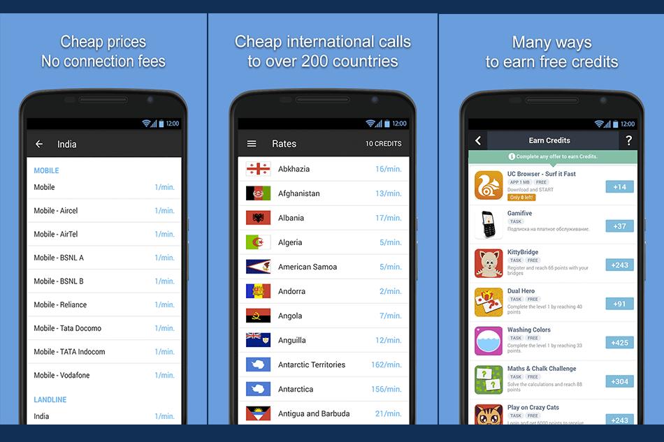 أفضل 6 مواقع اتصال دولي برصيد مجاني من انترنت للموبايل