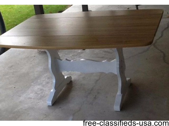 Kitchen Table Small House Or Apartment Size 2 Fold Down