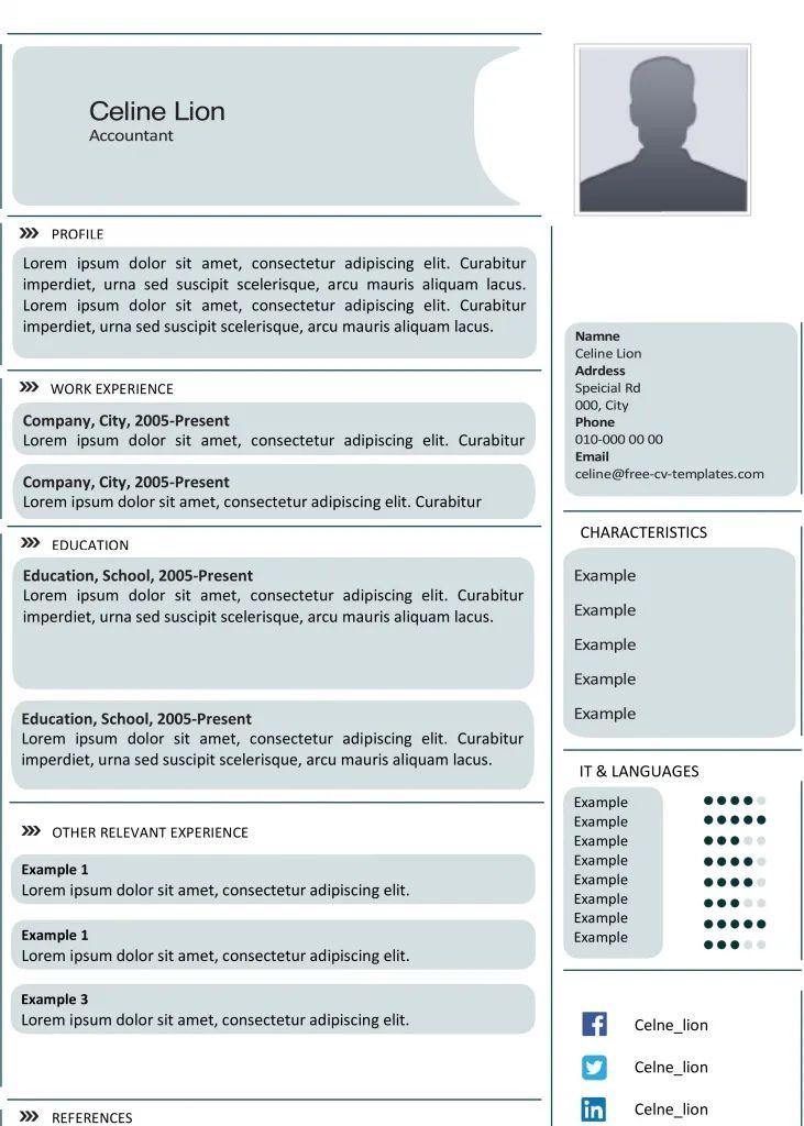 advanced resume templates