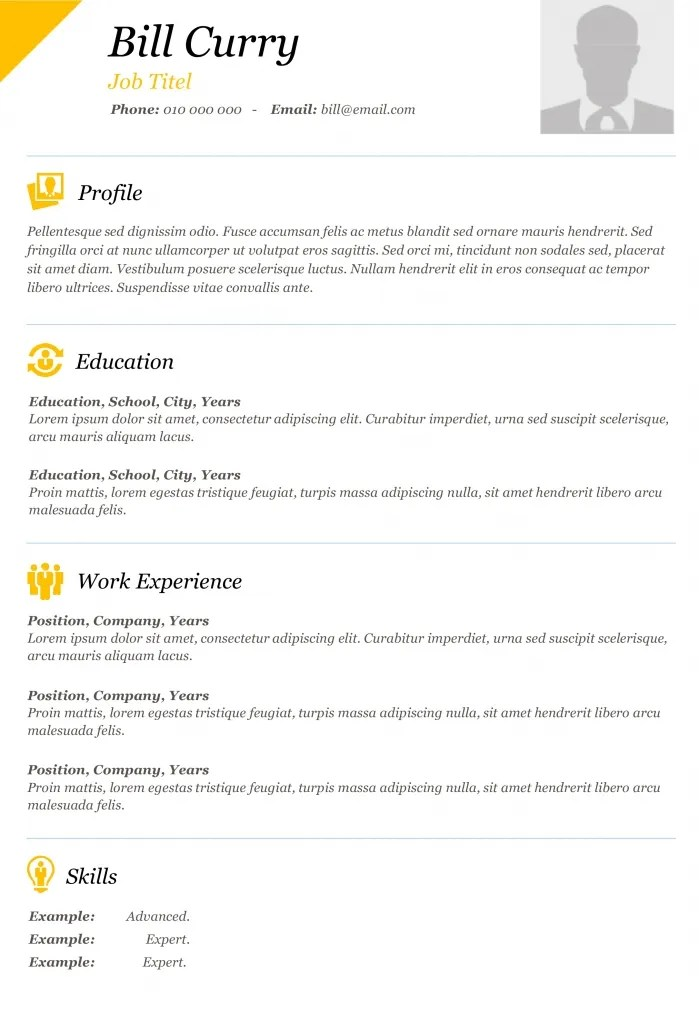 Free Dynamic CV Templates  Land the job with our Word templates