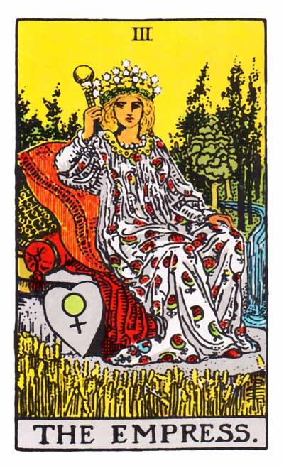 Tarot Empress Card