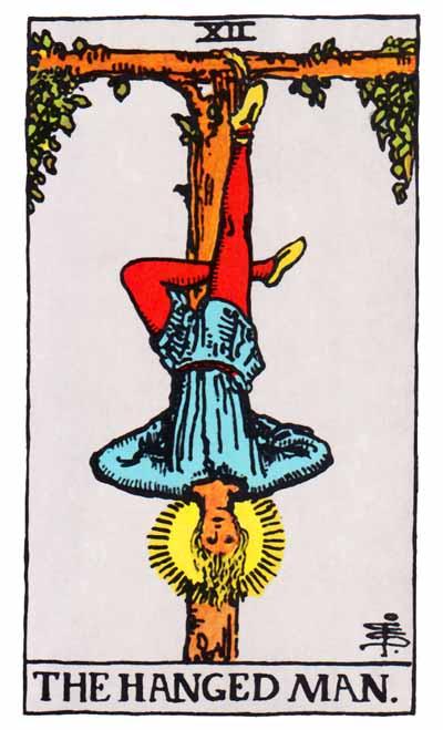 Tarot Hanged Man Card