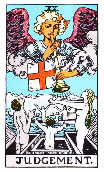 Tarot Judgment Card