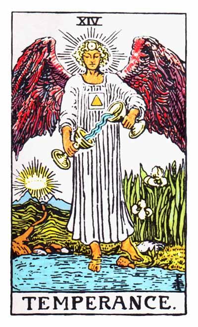 Tarot Temperance Card