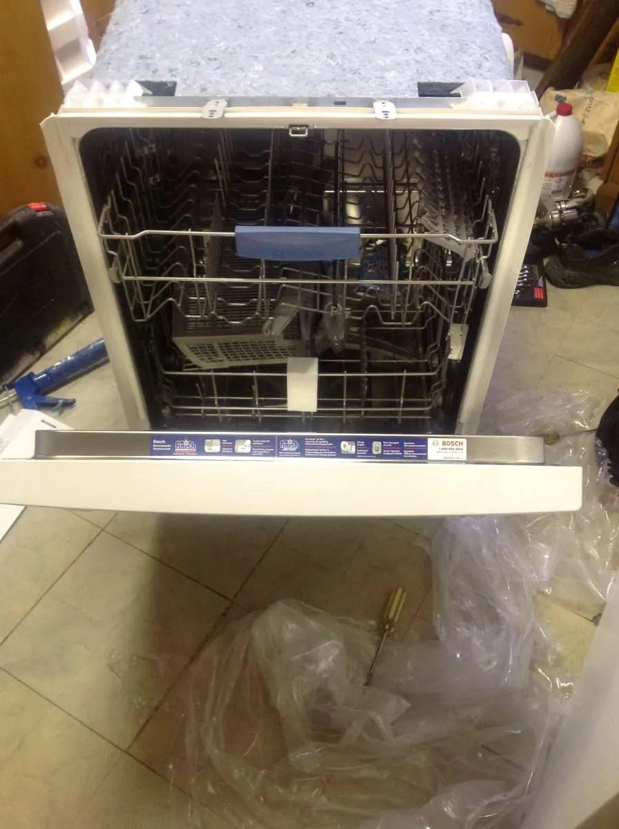 Bosch Dishwasher Free Installation : bosch, dishwasher, installation, Bosch, 300-series, Dishwasher, Review, Installation