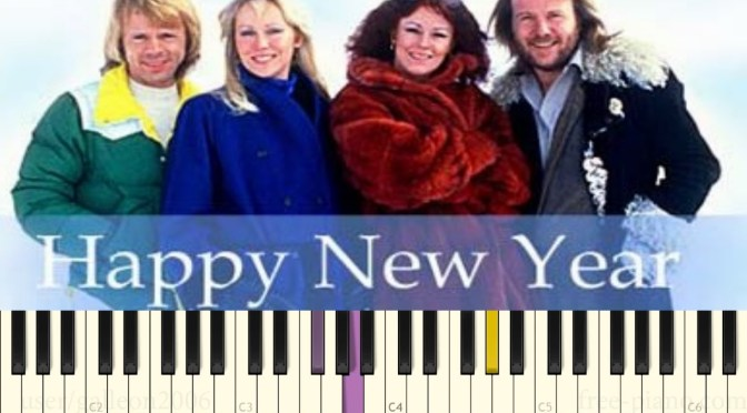 ABBA – Happy New Year – Piano Tutorial