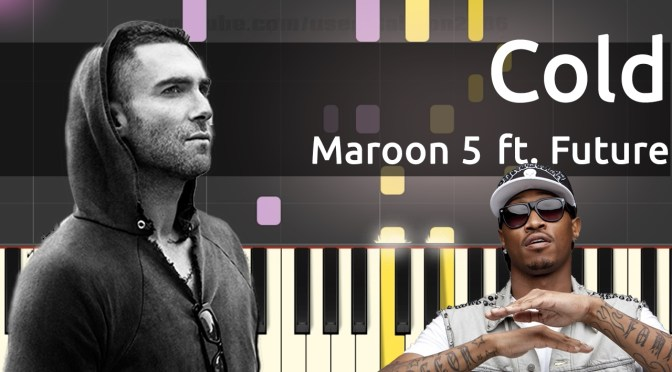 Maroon 5 – Cold (ft. Future) – Piano Tutorial – Cover