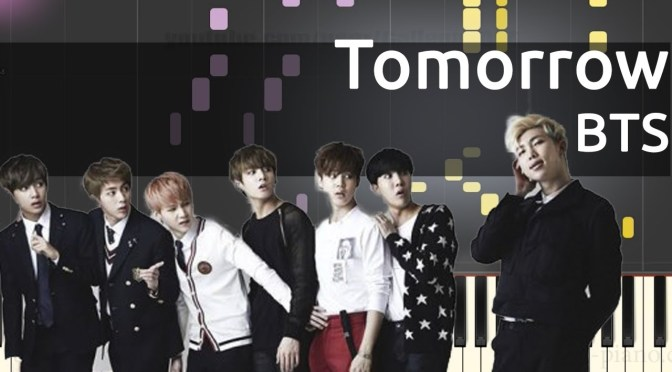BTS – Tomorrow – Piano Tutorial