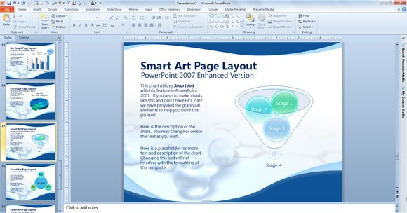 Free Scientific PowerPoint Template PowerPoint Presentation
