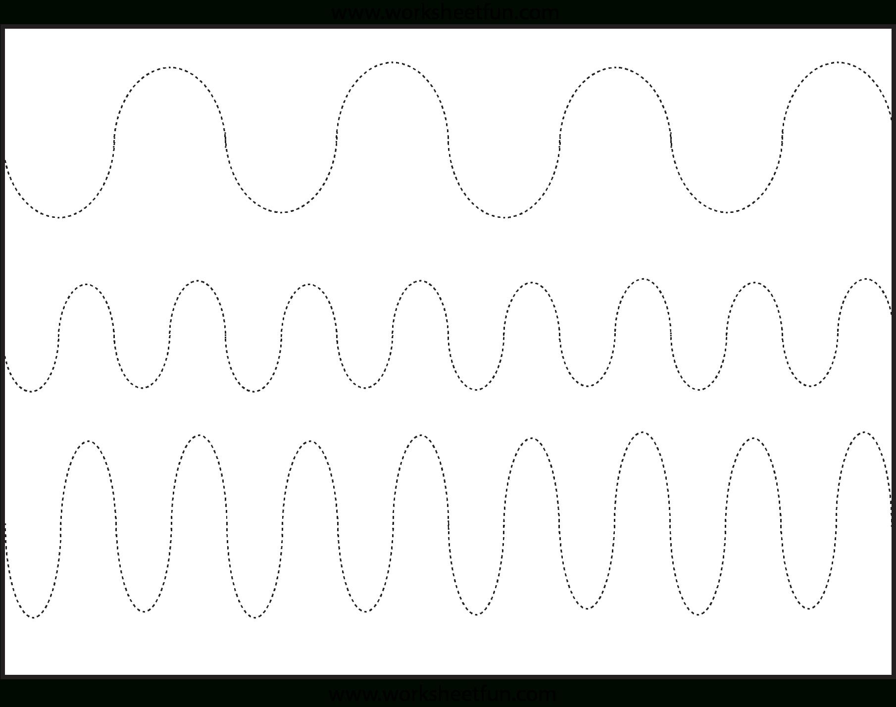 Free Printable Preschool Worksheets Tracing Lines