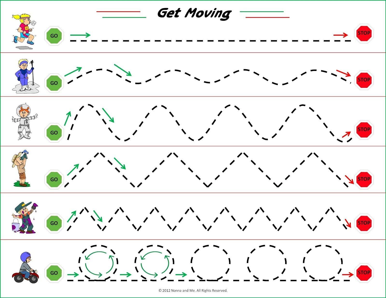 Free Printable Fine Motor Skills Worksheets