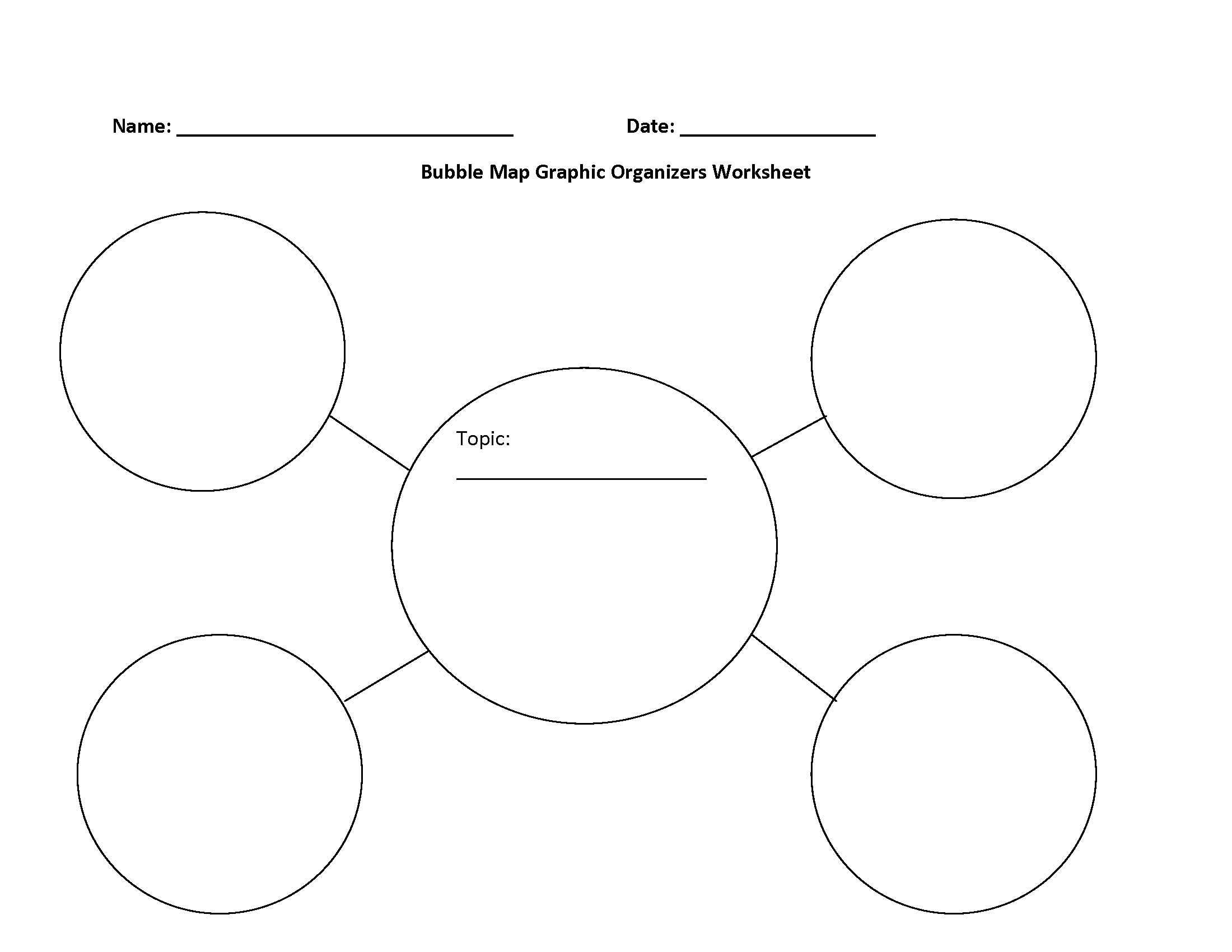 Englishlinx Graphic Organizers Worksheets