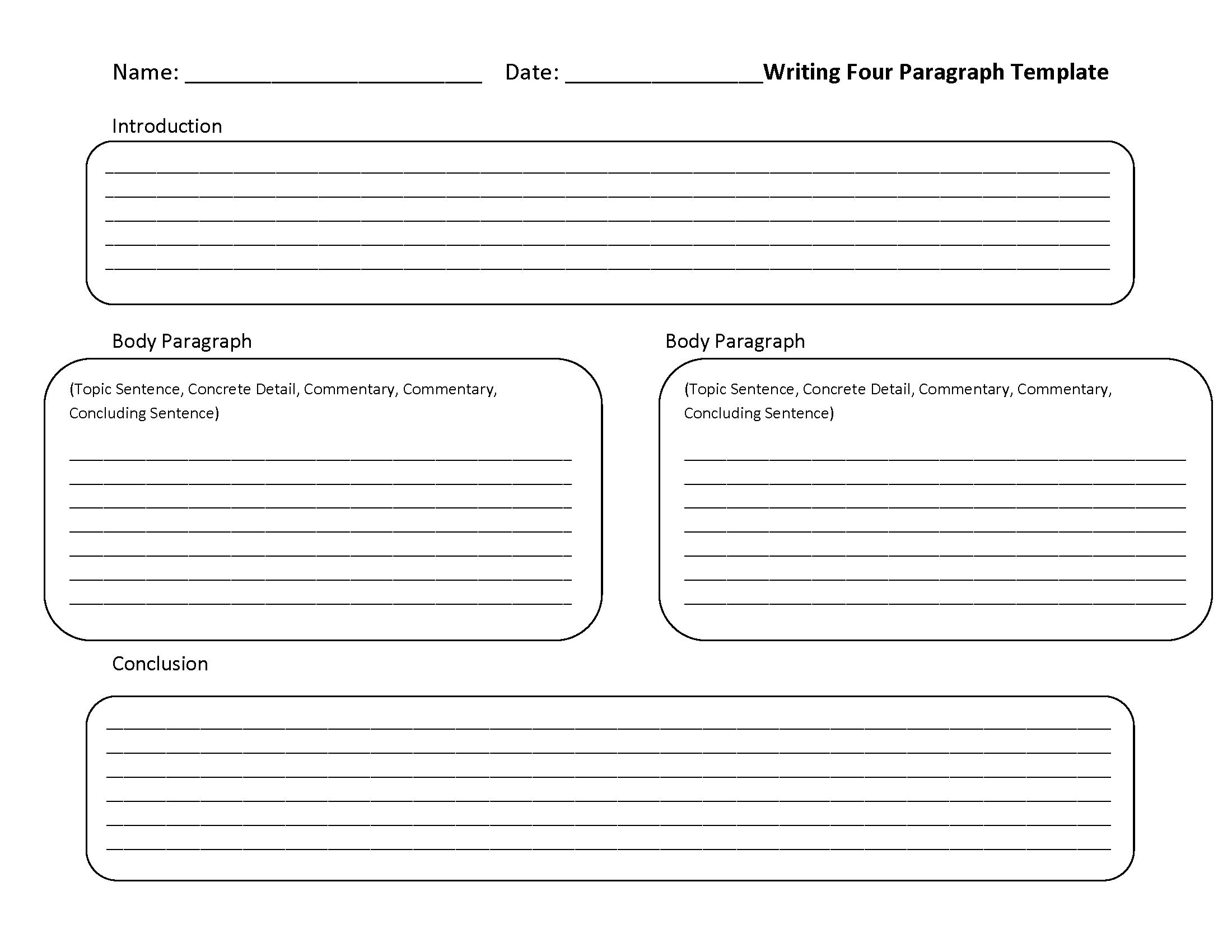 6th Grade Writing Worksheets Printable Free