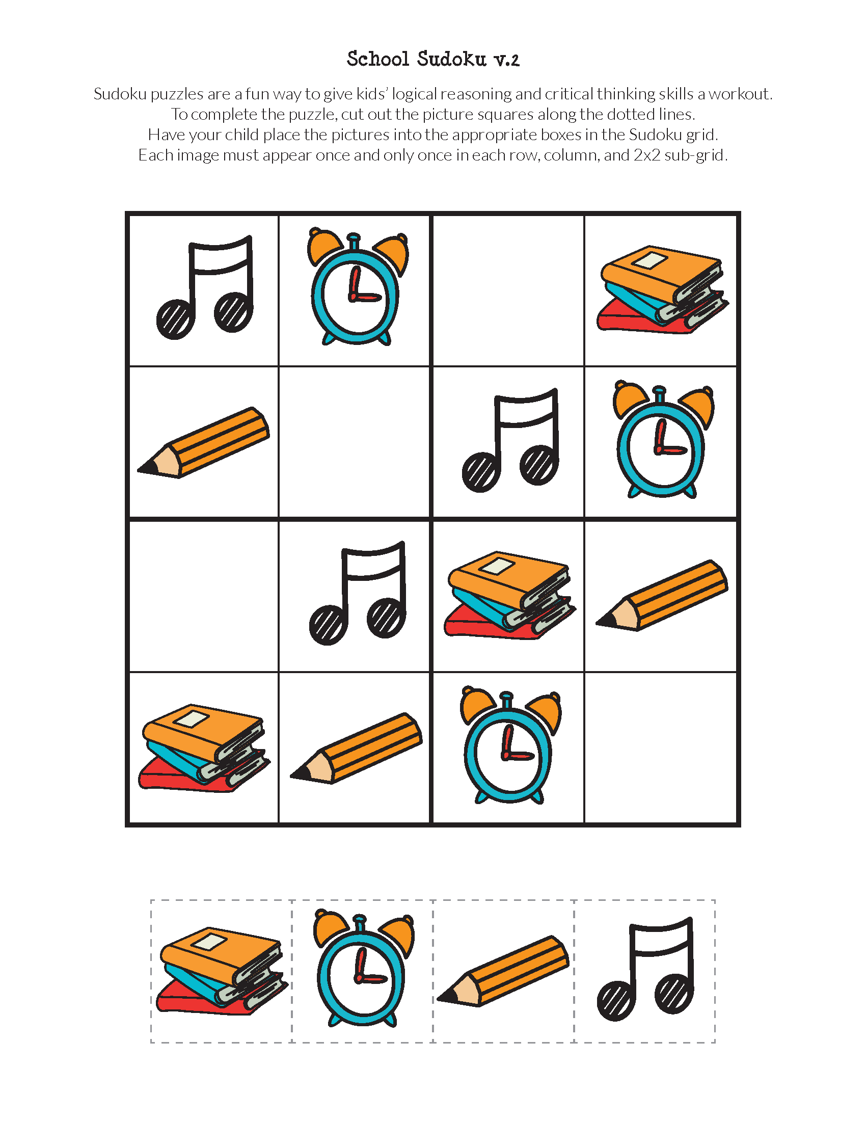 Free Printable Critical Thinking Puzzles