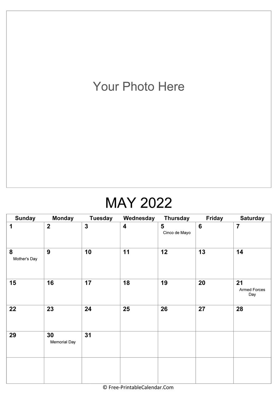2022 Photo Calendar Templates