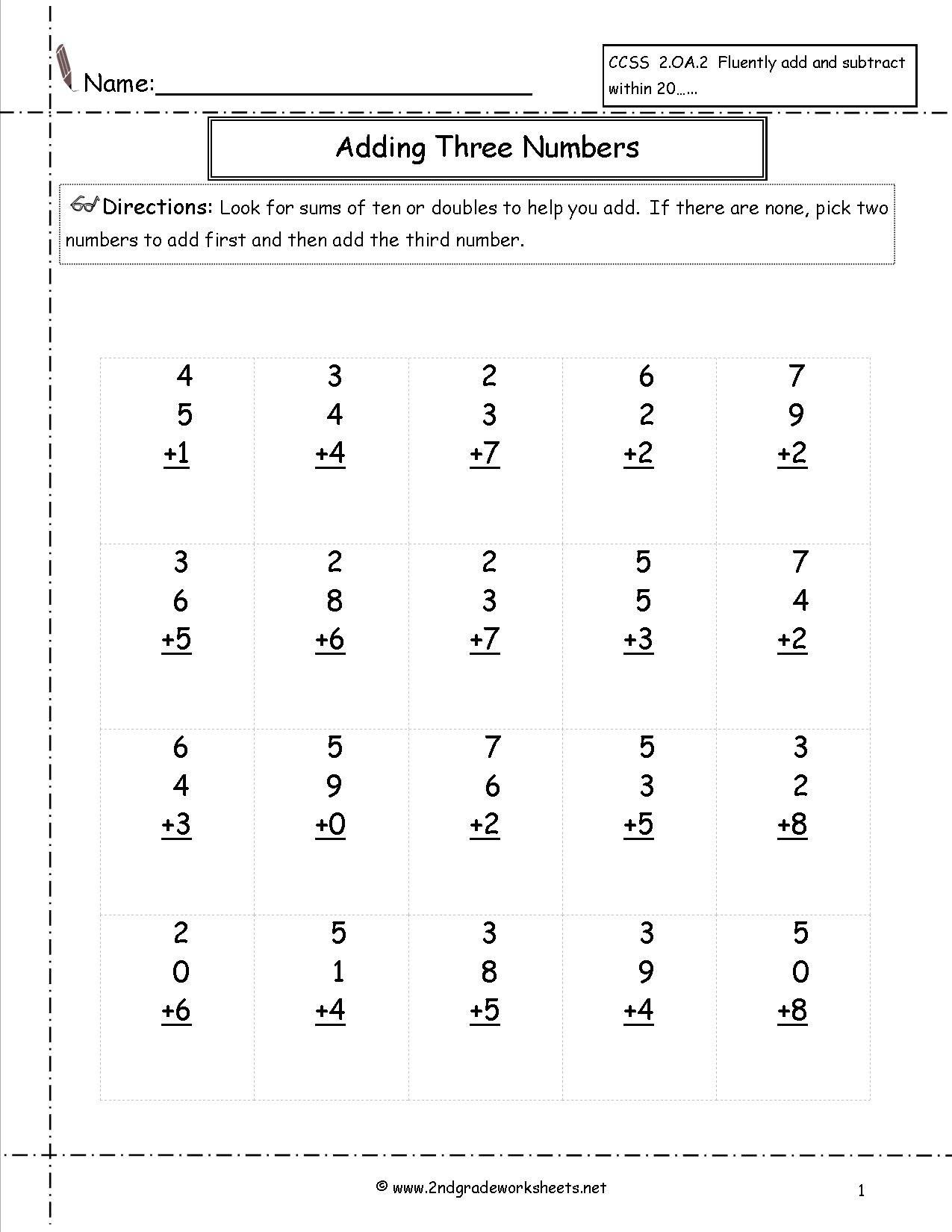 hight resolution of 12th Grade Money Worksheets   Printable Worksheets and Activities for  Teachers