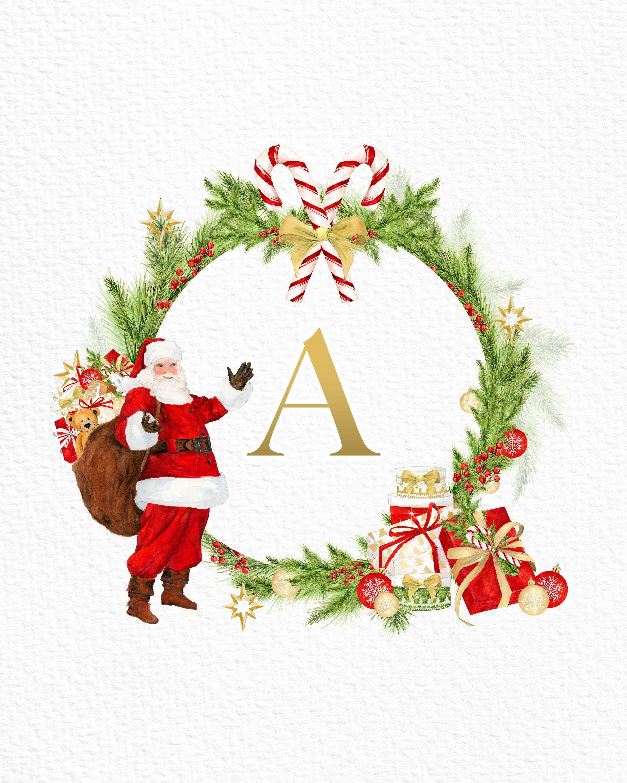 My Christmas Alphabet Worksheet