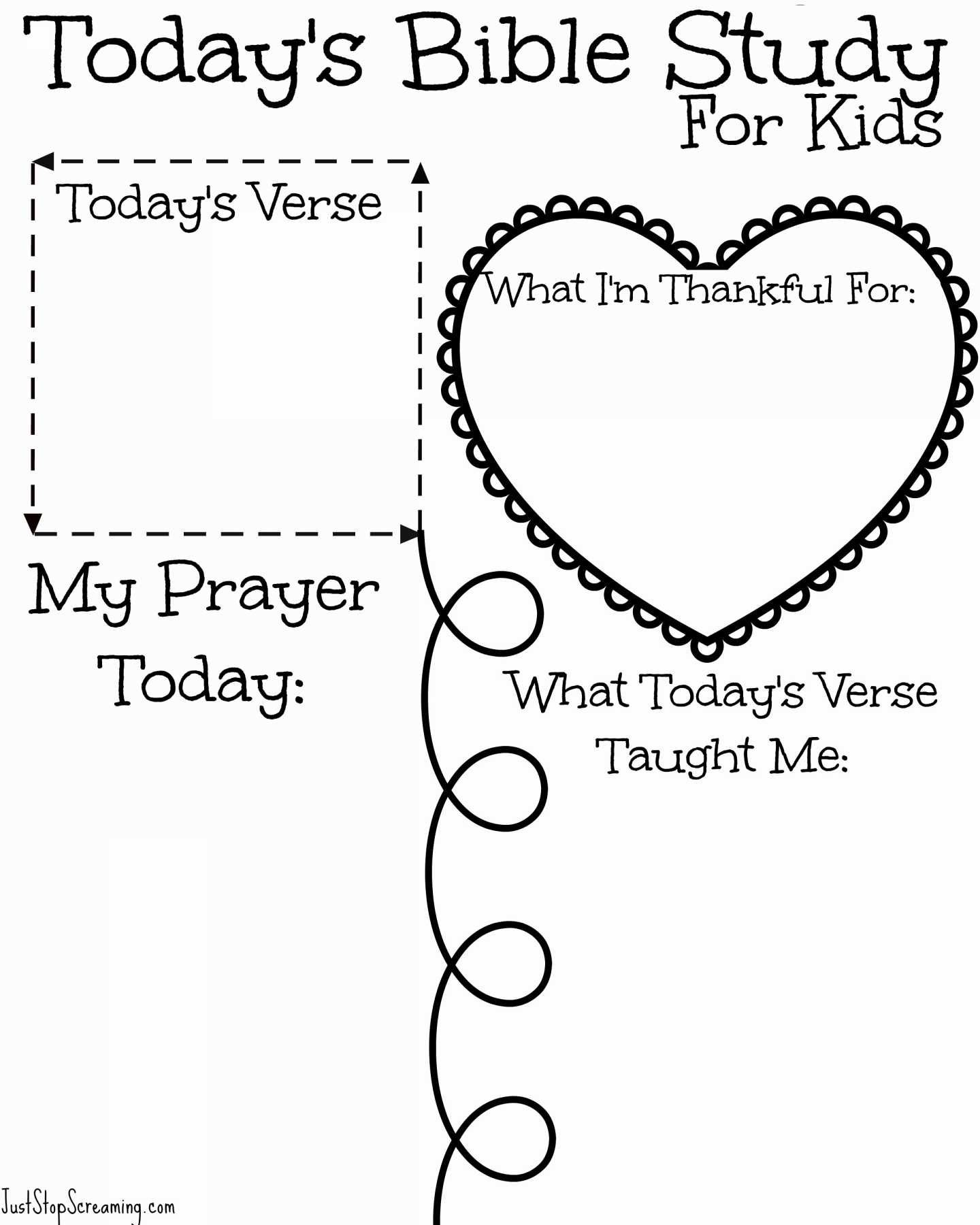 Free Printable Children S Bible Lessons Worksheets