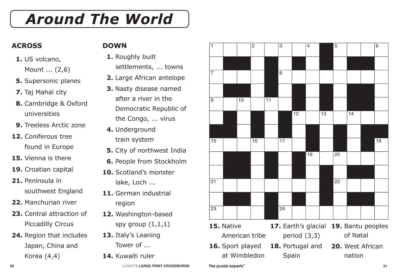 Summertime Crossword
