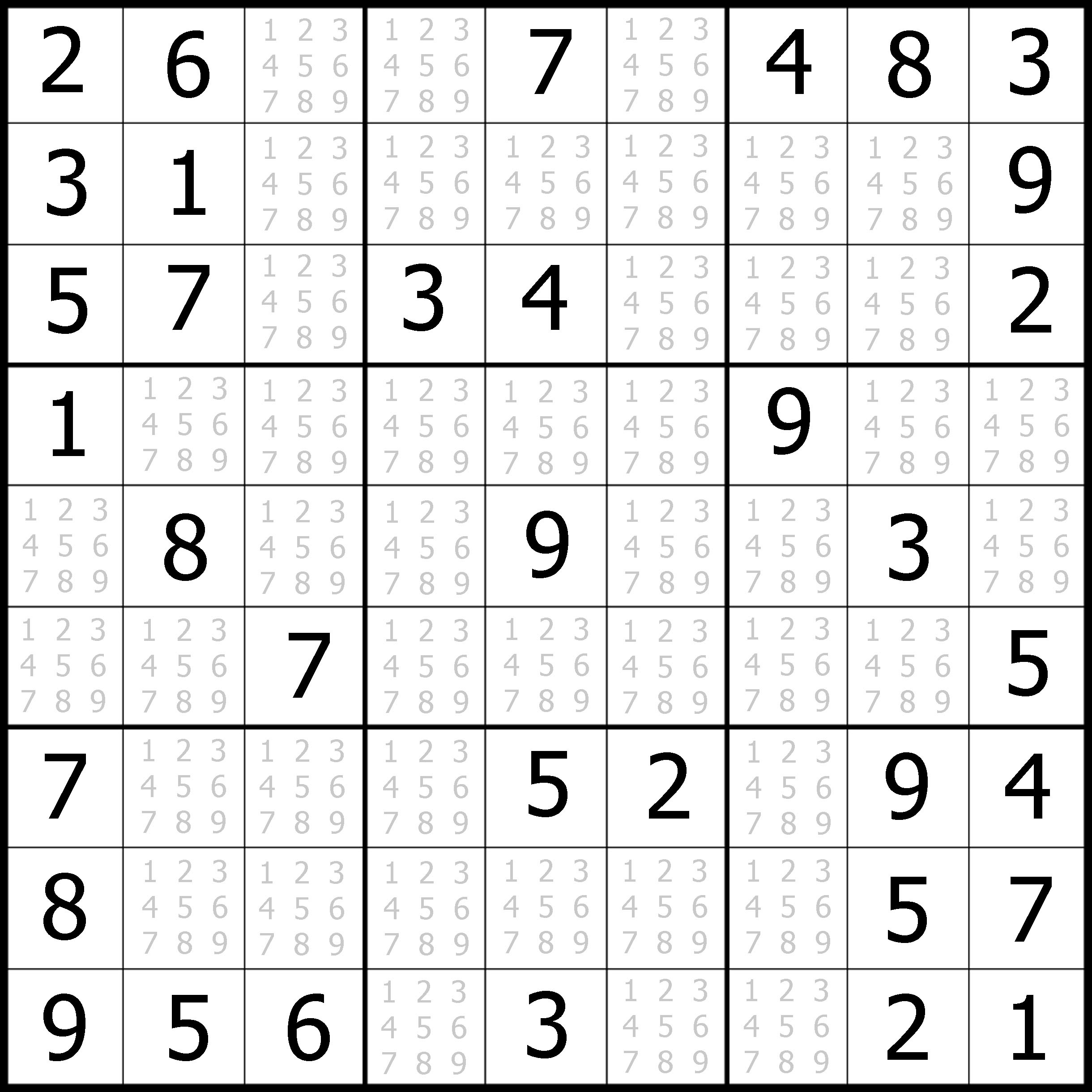 Worksheet Easy Sudoku Puzzles Printable Flvipymy
