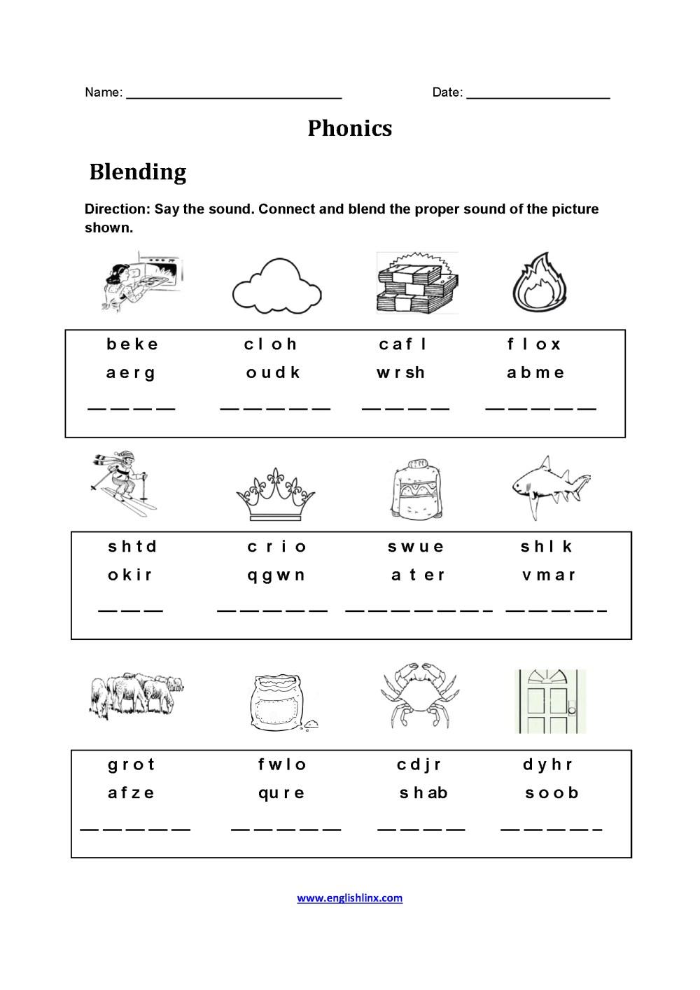 medium resolution of English Worksheets Phonics   www.robertdee.org