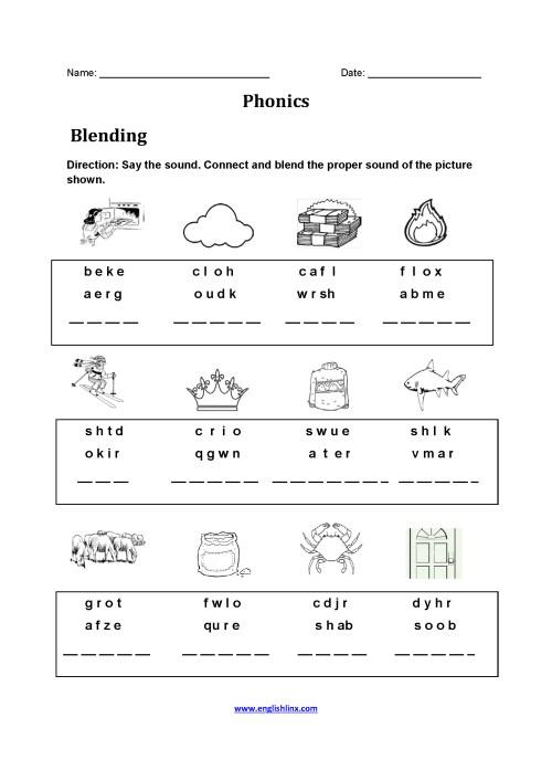 small resolution of English Worksheets Phonics   www.robertdee.org