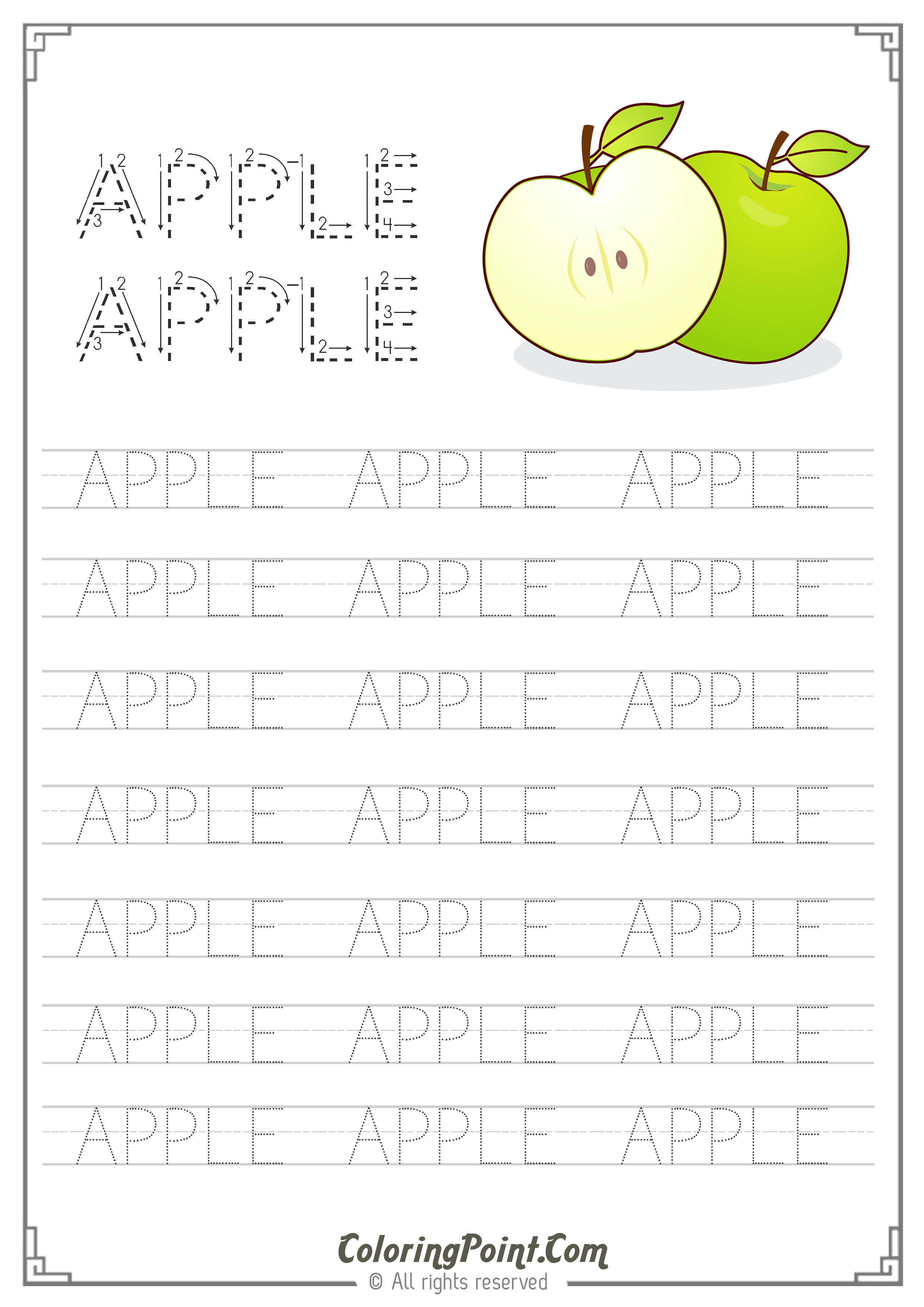 Free Printable Worksheets Ready To Print A4 Paper Size