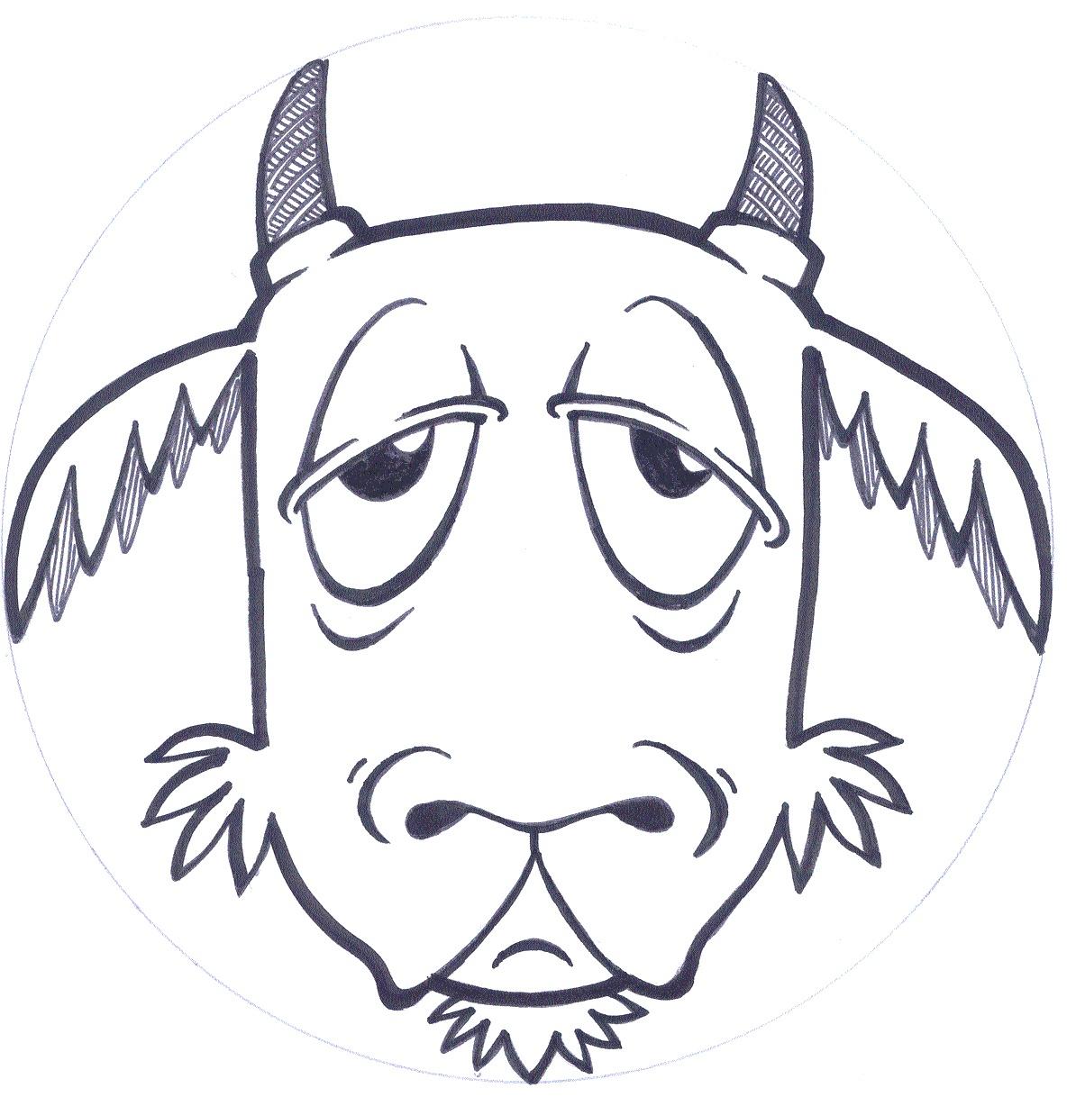 Three Billy Goats Gruff Masks Printable Free