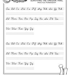 Diy Cursive Worksheet   Printable Worksheets and Activities for Teachers [ 3300 x 2550 Pixel ]