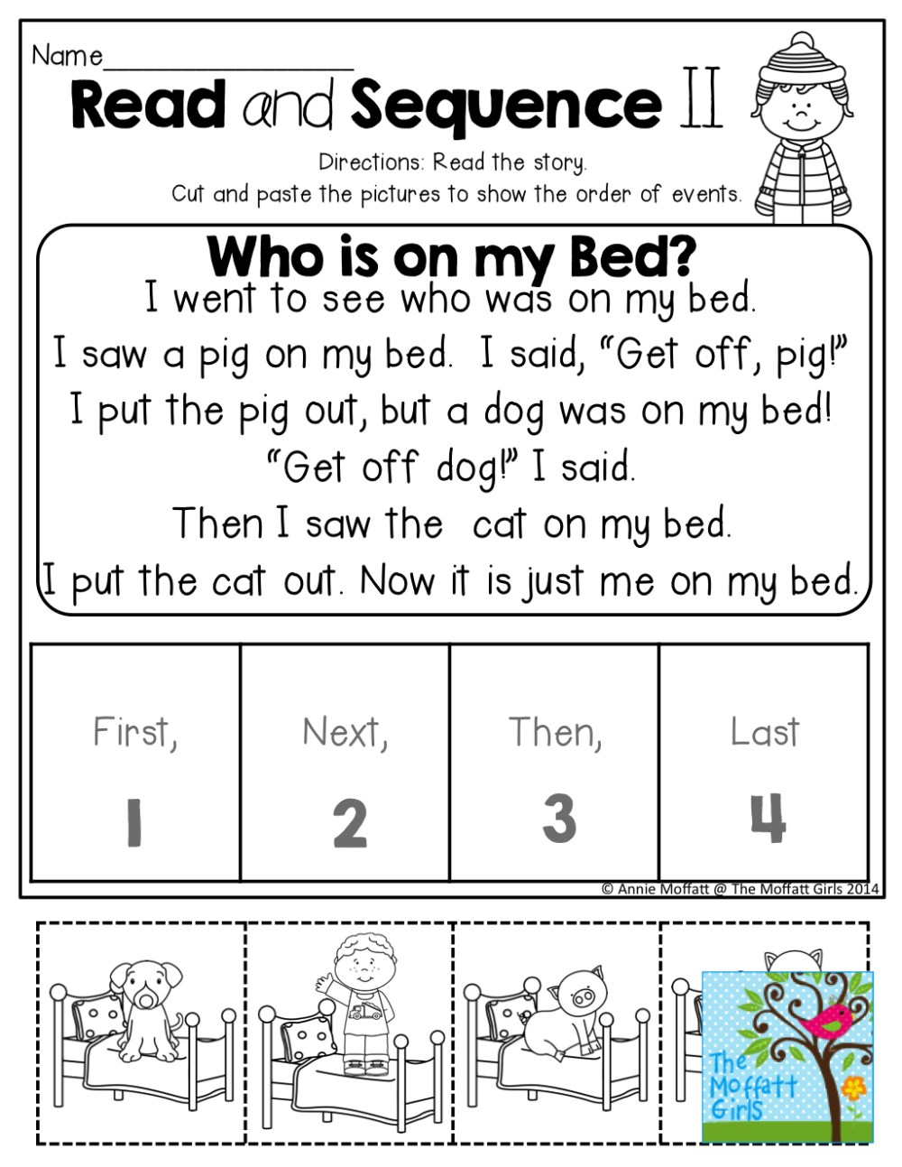 medium resolution of Sequencing Worksheets Pdf   Printable Worksheets and Activities for  Teachers