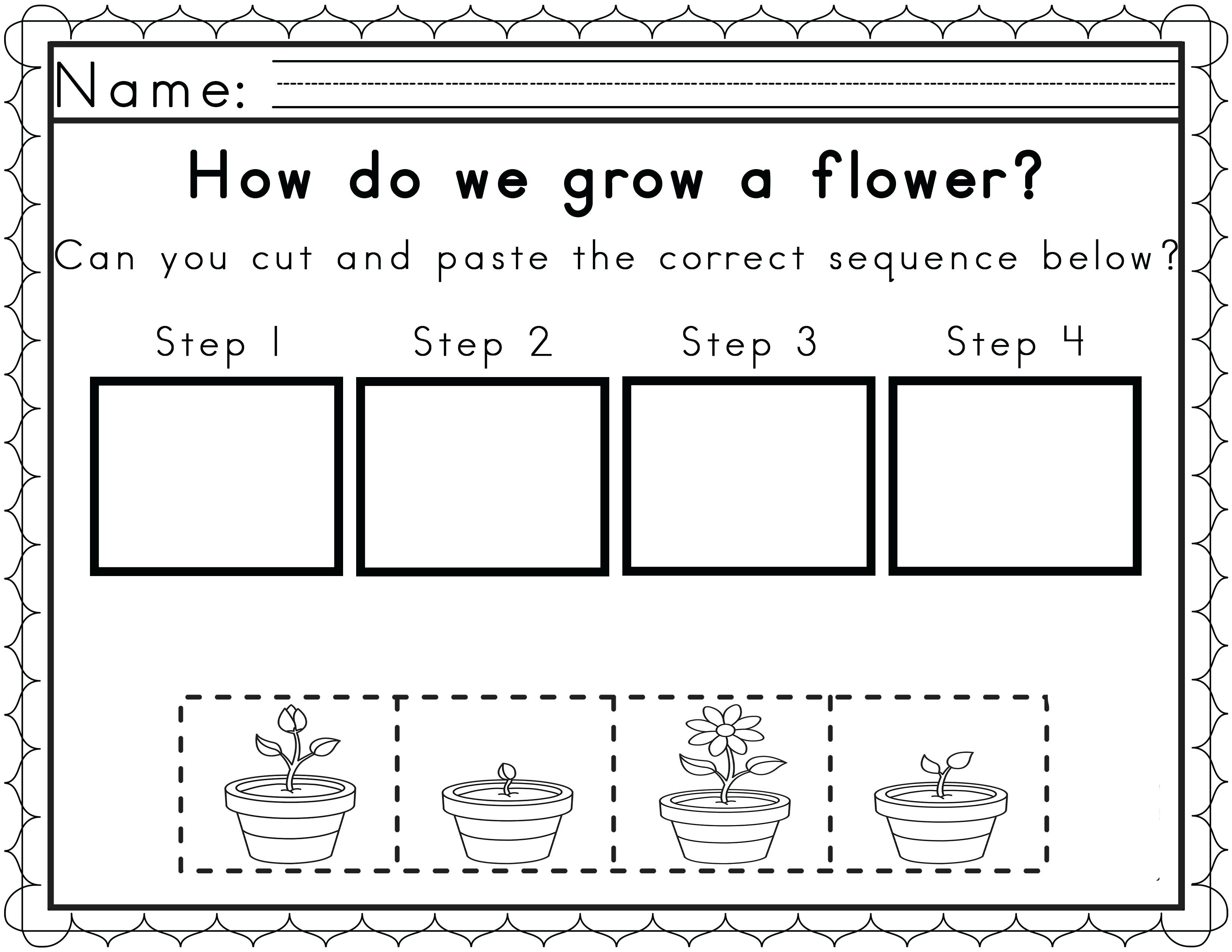 Free Printable Sequencing Worksheets 2nd Grade