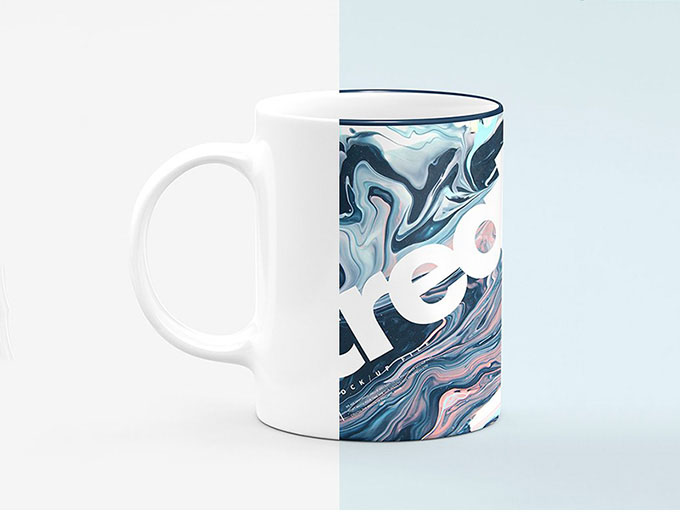 Color changing 15 ounce coffee mug template mockup dye sublimation. 24 Free Mug Mock Up In Psd Premium Version Free Psd Templates