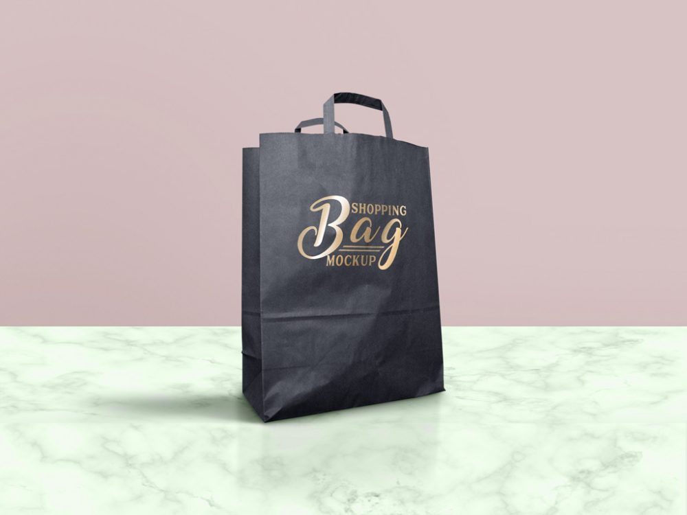 A customized branded packaging bag is easily recognizable by the company logo or brand printed on it. 65 Free Professional Shopping Bag Mockups And Premium Version Free Psd Templates
