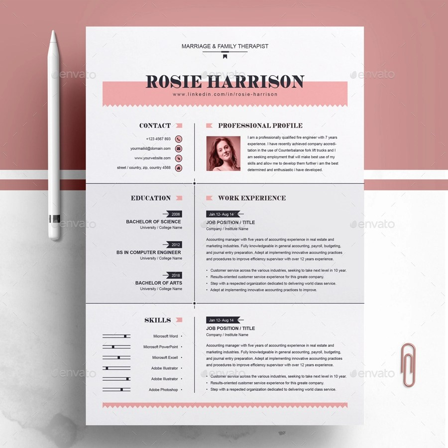 Modern Resume Template Download 60 Premium Free Psd Cv Resume Templates Cover Letters To