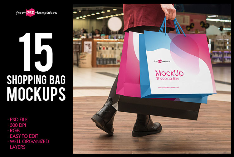 The packaging bags are very helpful to promote with. 65 Free Professional Shopping Bag Mockups And Premium Version Free Psd Templates